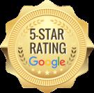 5-Star Google Rating